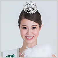 2016 Runner-UP Miss International Japanese Delegate Mari Schonfeld Masuda