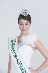 2016Runner-UP Miss InternationalJapanese Delegate 増田ションフェルド茉莉